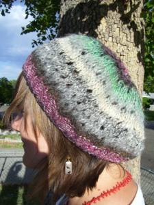 Slouchy Vintage hat pattern coming soon...