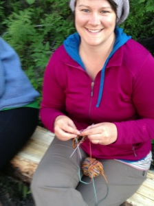 There is even time for knitting!